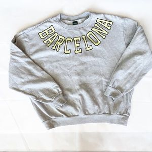 "WILD FABLE ""Barcelona"" Graphic Sweatshirt"